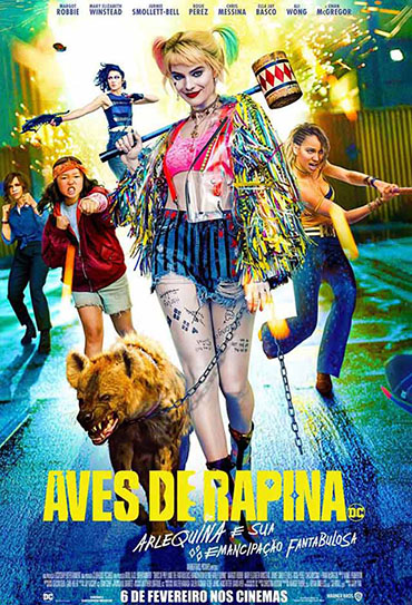 Poster do filme Aves de Rapina - Arlequina e sua Emancipação Fantabulosa