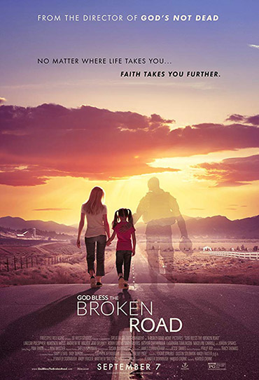 Poster do filme God Bless the Broken Road