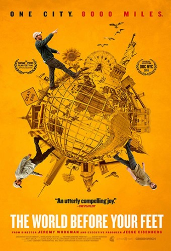 Poster do filme The World Before Your Feet