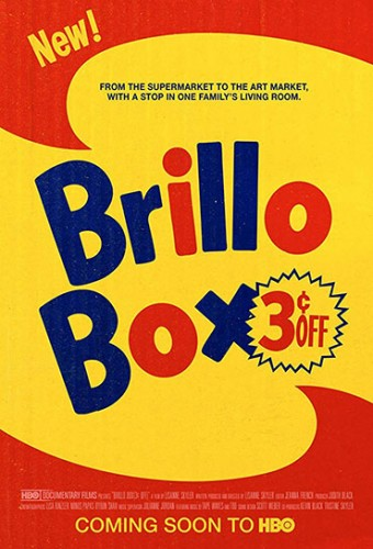 Poster do filme O Leilão da Brillo Box