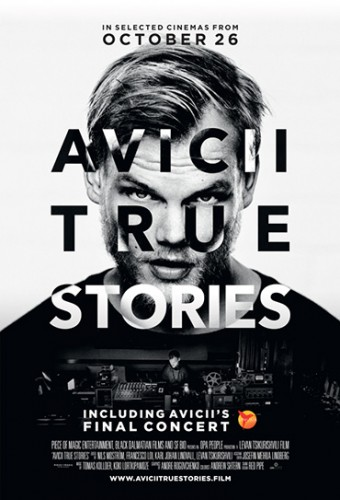 Poster do filme Avicii: True Stories