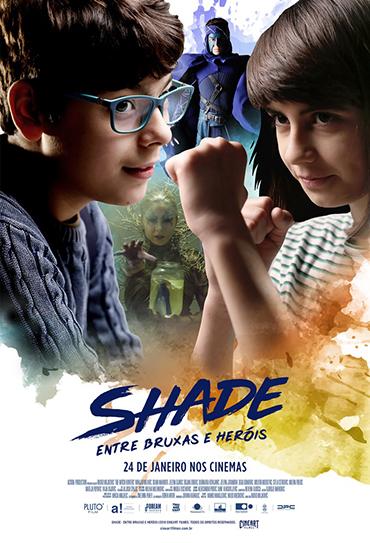 Poster do filme Shade - Entre Bruxas e Heróis