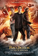 Poster do filme Percy Jackson e o Mar de Monstros