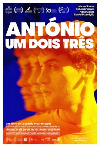 Poster do filme António Um Dois Três