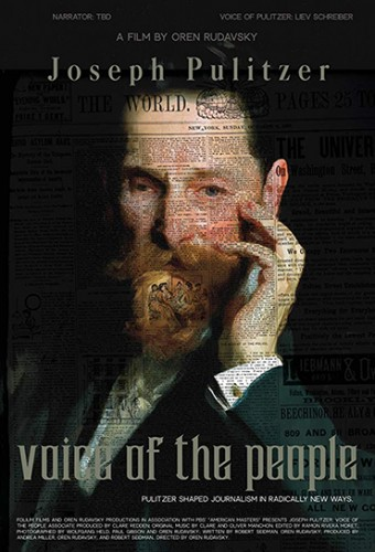 Poster do filme Joseph Pulitzer: Voz do Povo