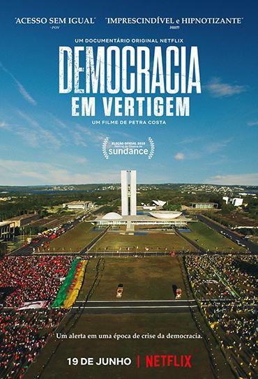 Poster do filme Democracia em Vertigem