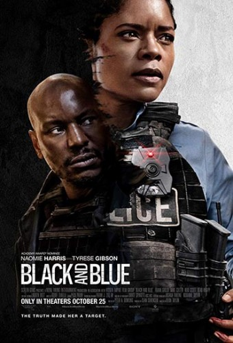 Poster do filme Black and Blue