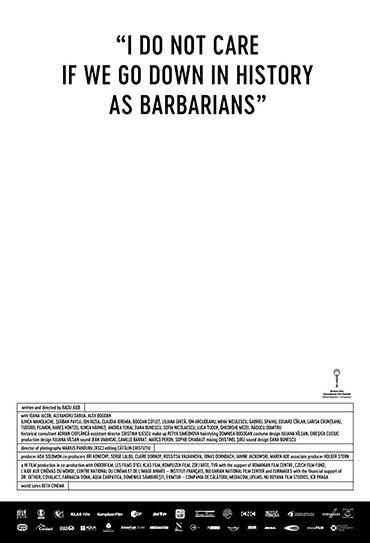 Poster do filme Eu não me Importo se Entrarmos para a História como Bárbaros