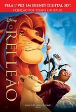 Poster do filme O Rei Leão 3D