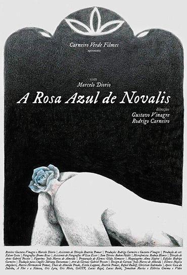 Poster do filme A Rosa Azul de Novalis