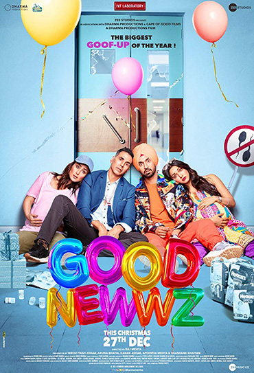Poster do filme Good Newwz