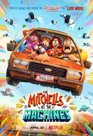 Poster do filme A Família Mitchell e a Revolta das Máquinas