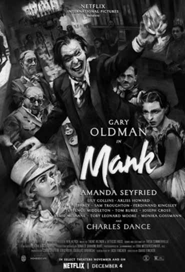 Poster do filme Mank