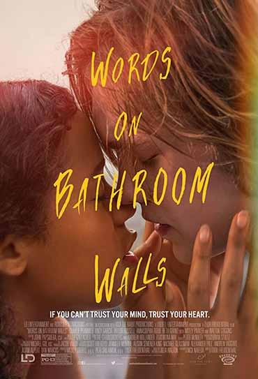 Palavras nas Paredes do Banheiro