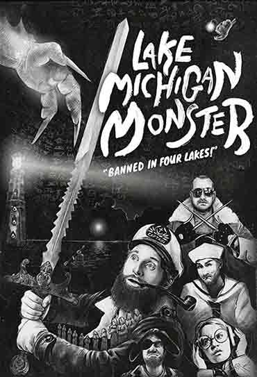 Poster do filme O Monstro do Lago Michigan