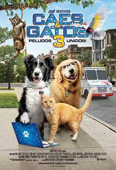 Poster do filme Como Cães e Gatos 3: Peludos Unidos!