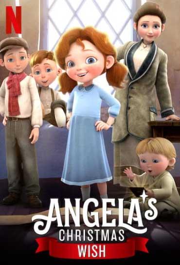 Poster do filme O Presente de Natal de Angela