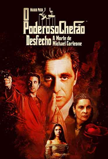 Poster do filme O Poderoso Chefão - Desfecho: A Morte de Michael Corleone