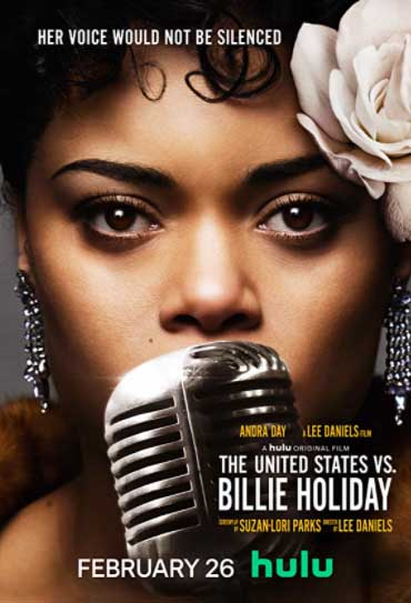 Poster do filme Estados Unidos Vs Billie Holiday
