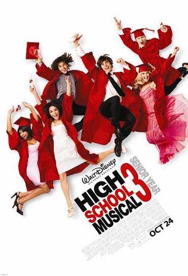 Poster do filme High School Musical 3: Ano da Formatura