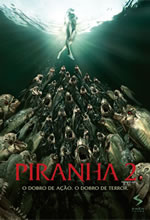 Poster do filme Piranha 2