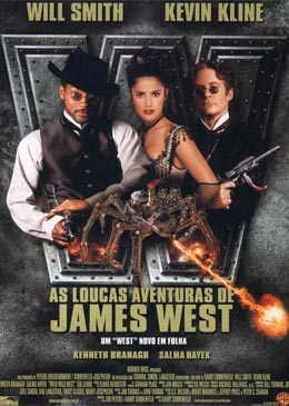 Poster do filme As Loucas Aventuras de James West