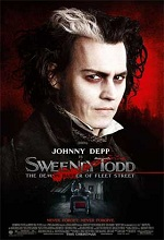 Poster do filme Sweeney Todd - O Barbeiro Demoníaco da Rua Fleet