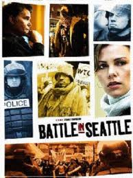 Poster do filme A Batalha de Seattle
