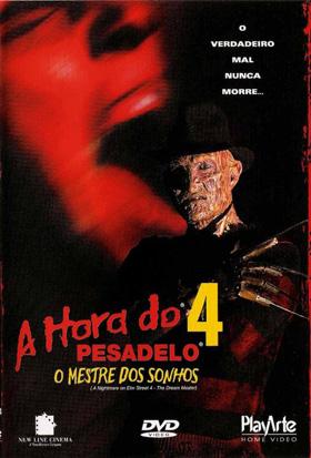 Poster do filme A Hora do Pesadelo 4 - O Mestre dos Sonhos