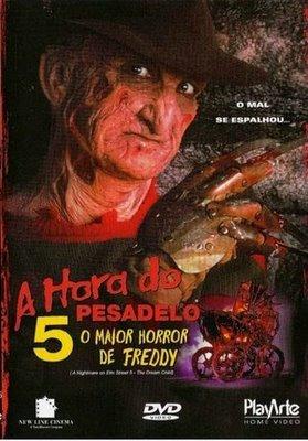 Poster do filme A Hora do Pesadelo 5 - O Maior Horror de Freedy