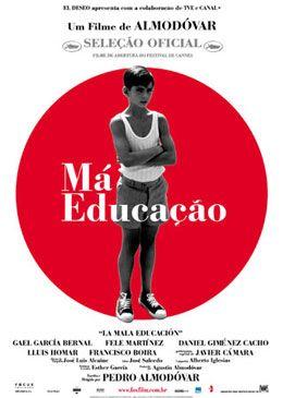 Poster do filme Má Educação