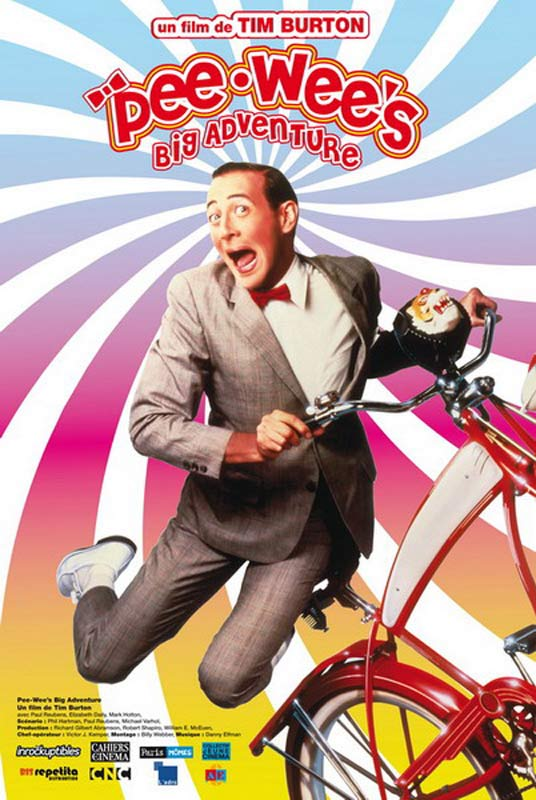 Poster do filme As Grandes Aventuras de Pee-Wee