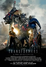 Poster do filme Transformers 4: A Era da Extinção