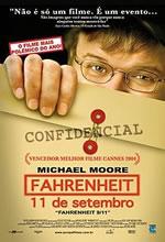 Poster do filme Fahrenheit 11 de Setembro