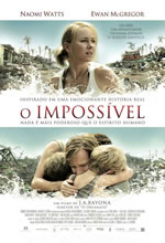 filmes 2145 O Impossivel Poster Download Filme   O Impossível AVI Dublado e RMVB Legendado