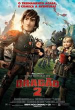 Poster do filme Como Treinar o seu Dragão 2