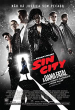 Poster do filme Sin City 2: A Dama Fatal