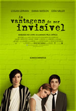 Poster do filme As Vantagens de Ser Invisível