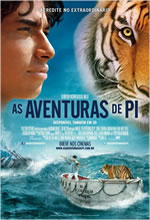 Poster do filme As Aventuras de Pi