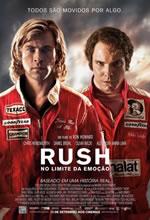 Poster do filme Rush - No Limite da Emoção