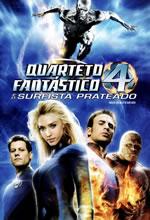 Poster do filme Quarteto Fantástico e o Surfista Prateado