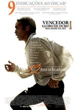 Poster do filme 12 Anos de Escravidão