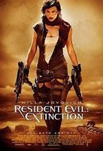 Poster do filme Resident Evil 3: A Extinção