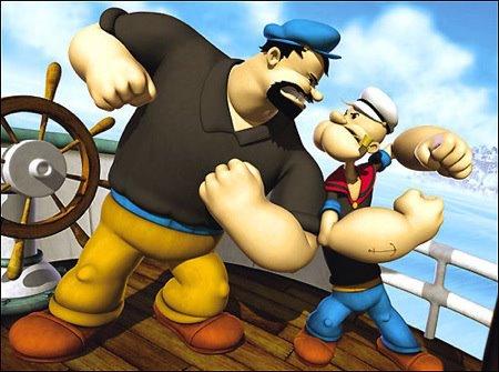 Imagem 3 do filme O Marinheiro Popeye 3D
