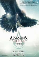 Poster do filme Assassin's Creed - O Filme