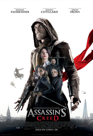 Poster do filme Assassin's Creed - O Filme