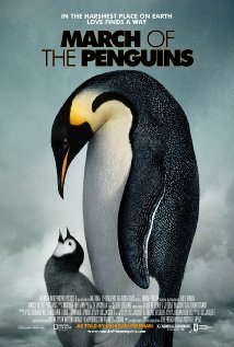 Poster do filme A Marcha dos Pinguins