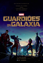 Poster do filme Guardiões da Galáxia