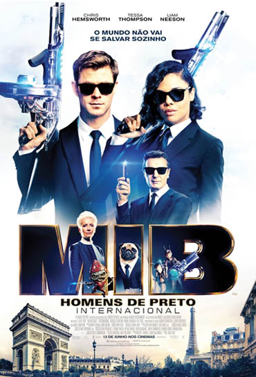 Poster do filme MIB: Homens de Preto - Internacional