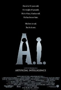 Poster do filme A.I. - Inteligência Artificial